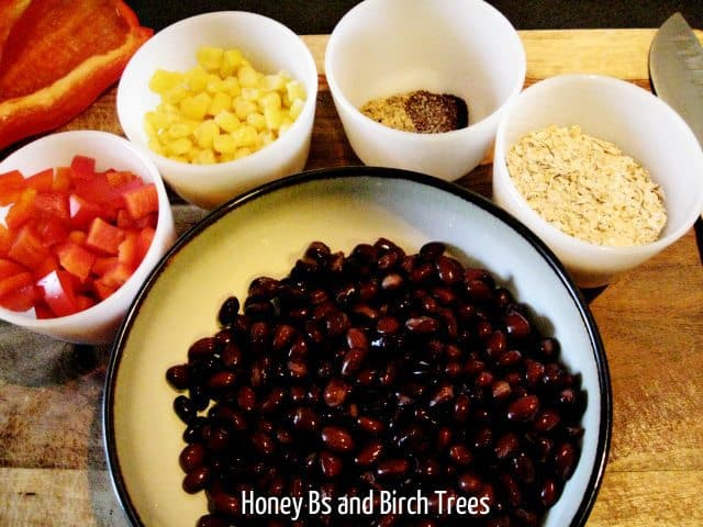 Spicy Black Bean Burger | Honey Bs and Birch Trees