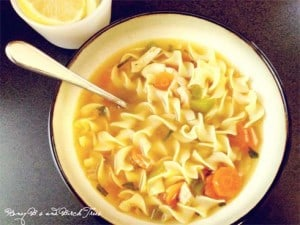 Spicy Rotisserie Chicken Noodle Soup
