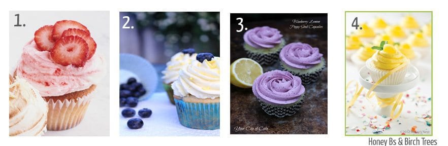 Eight Great for Spring Cupcakes | Honey and Birch