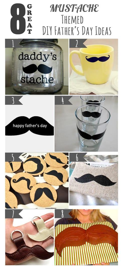 8 Great Mustache DIY