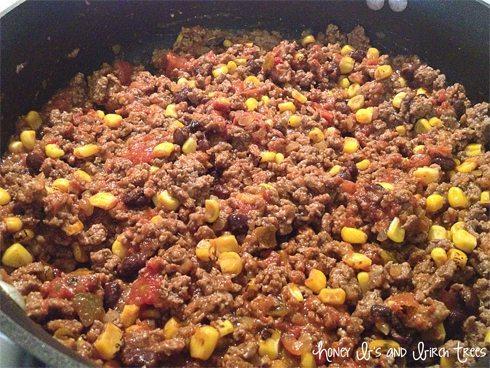 Corn and Black Bean Sloppy Joes