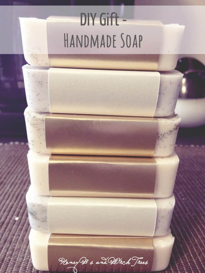 Mother's Day Gift Idea - DIY Soap