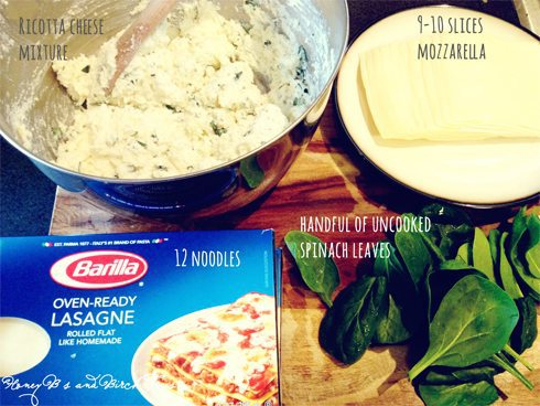 Spinach Lasagna | Honey Bs and Birch Trees