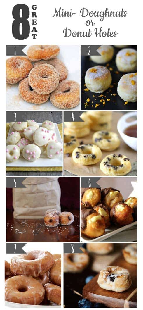 8 Great Mini Doughnuts