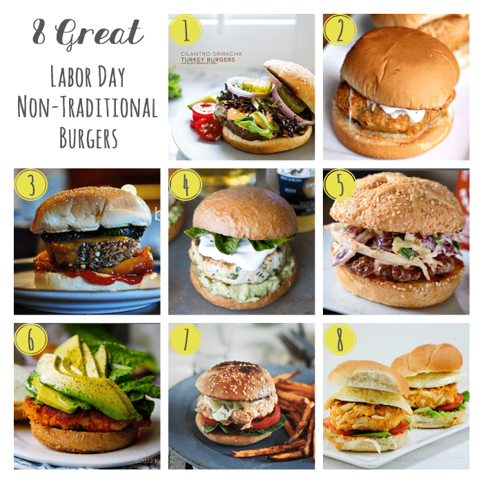 8 Great Non Traditional Burgers