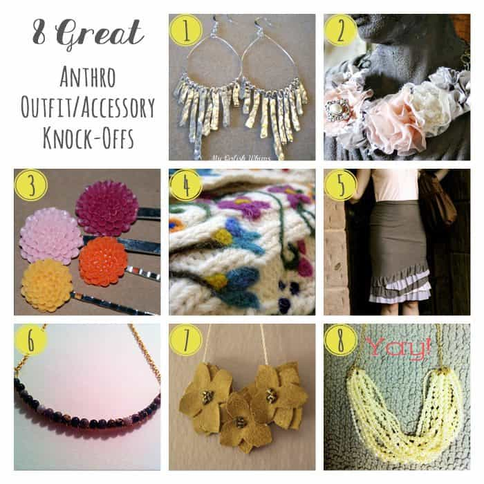 8 Great Anthro Outfit/Accessory Knockoffs