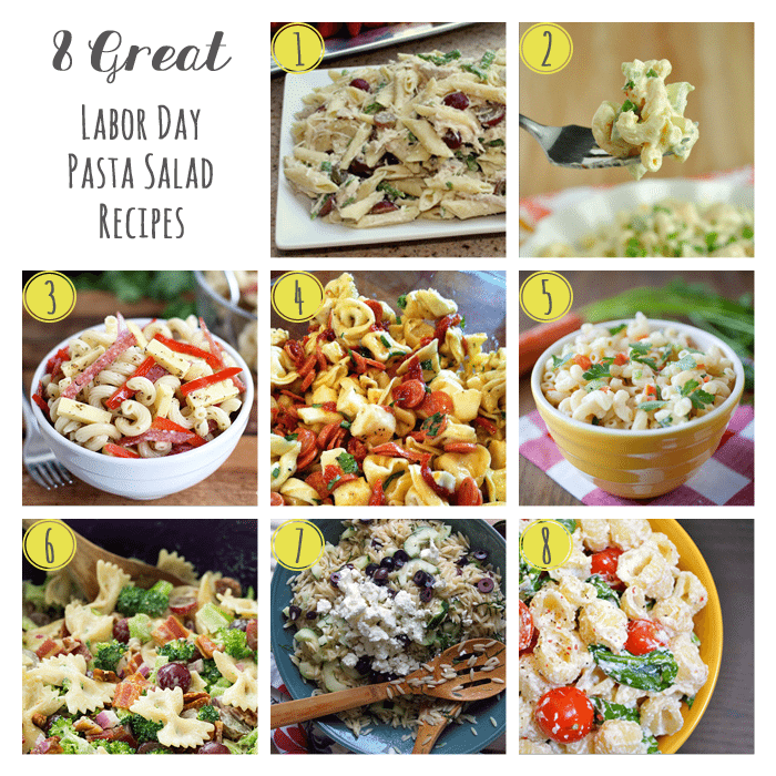 8 Great Pasta Salad Recipes