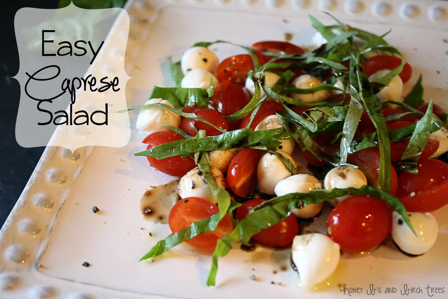 photo How to Make Caprese Salad