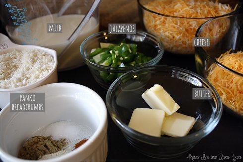 Baked Jalapeno Macaroni and Cheese