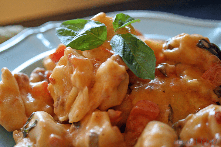 Slow Cooker Tuscan Pasta