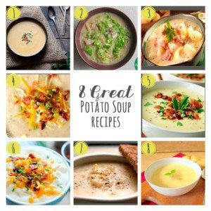 8 Great Potato Soup Recipes