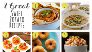 8 Great Sweet Potato Recipes