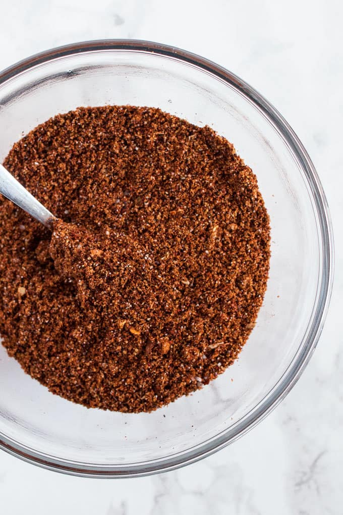 Homemade taco seasoning is so easy to make you will never buy it at the store again. Just a few spice from your spice rack and you're ready for tacos!
