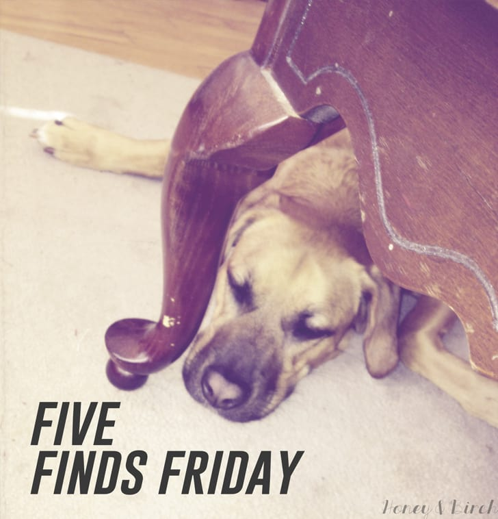 Five Finds Friday 11.01.2013