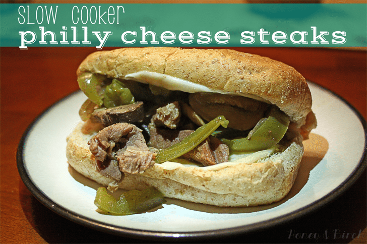 Recipe Redo: Slow Cooker Philly Cheese Steaks