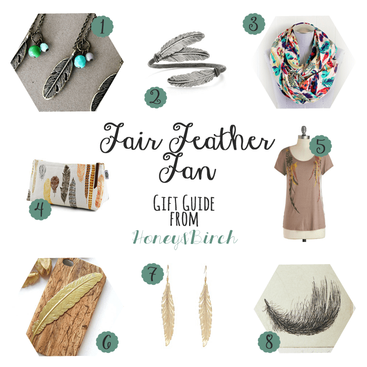 Fair Feather Fan - Feathery Gifts for Her Under $30