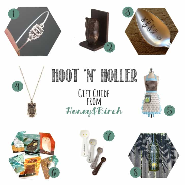 Hoot 'n' Holler - Owl Gifts for Her Under $30