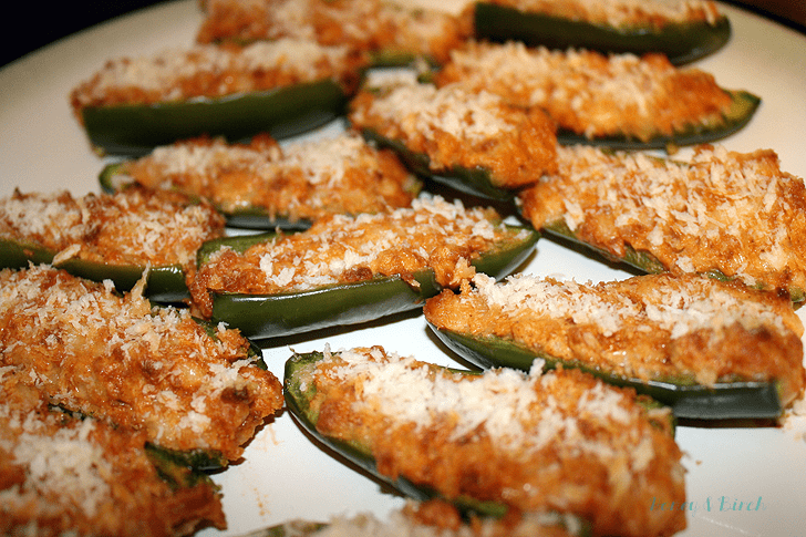 Jalapeno Poppers with Chorizo and Chihuahua Cheese