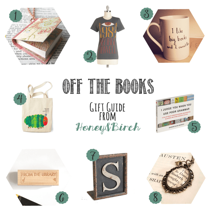Off The Books - Book Inspired Gifts for Her Under $30