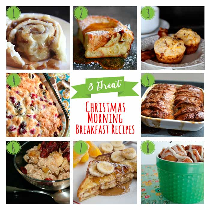 8 great Christmas morning breakfast recipes, perfect sustenance for opening up Christmas presents! | www.honeyandbirch.com