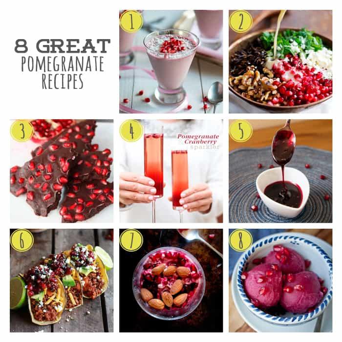 8 Great Winter Pomegranate Recipes