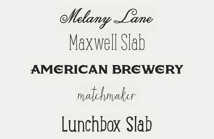 Creative Market - 5 Awesome Fonts