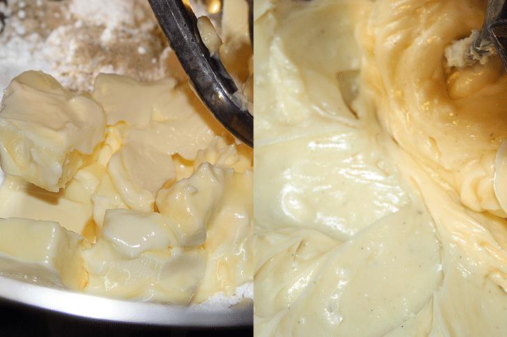 Lavender Vanilla Crescent Cookies