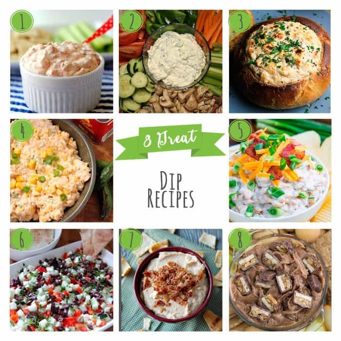 8 Great Dip Recipes