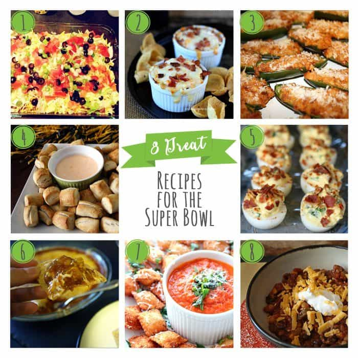 8 Great Recipes for the Super Bowl