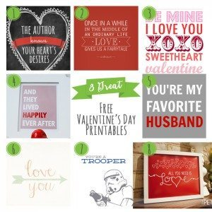 8 Great Valentines Day Free Printables