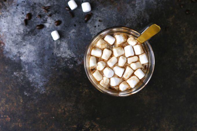 one mug of Slow cooker Kahlua hot cocoa
