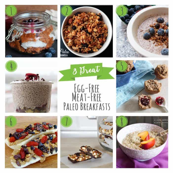 8 Great Egg-Free, Meat-Free Paleo Breakfasts