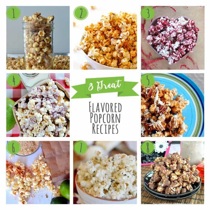 8 Great Flavored Popcorn Recipes - Honey & Birch