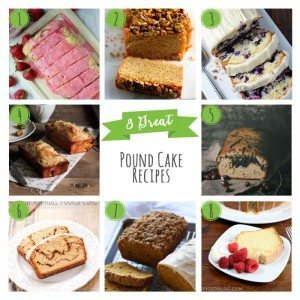8 Great Pound Cake Recipes