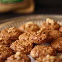 Walnut Cup Cookies