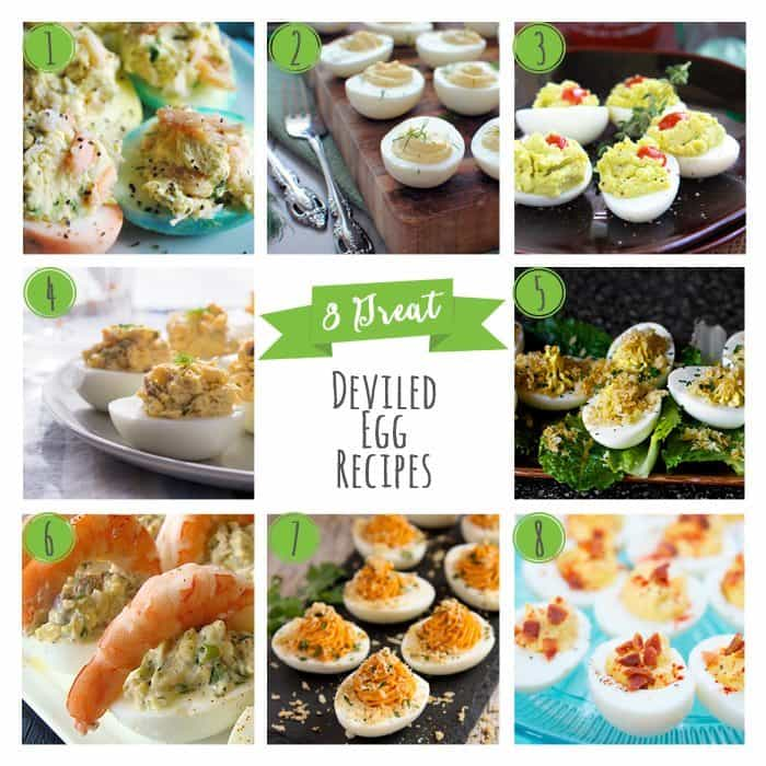 8 Great Deviled Egg Recipes - Honey and Birch