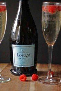 Celebrating with La Marca Prosecco