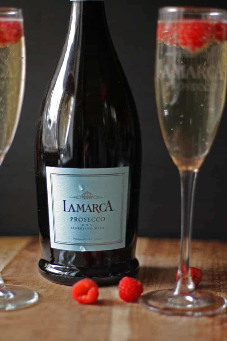 Celebrating with La Marca Prosecco