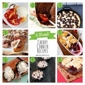 8 Great Cherry Cobbler Recipes