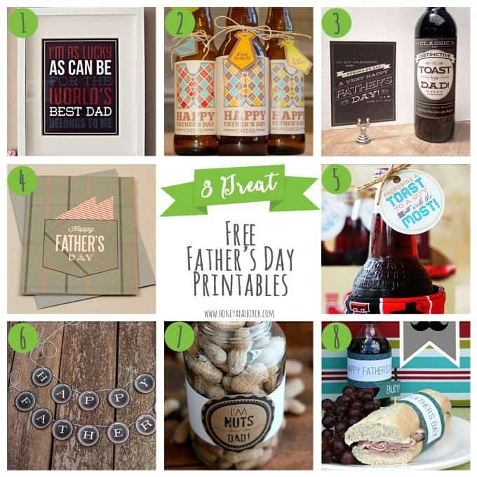 8 Great Free Father's Day Printables