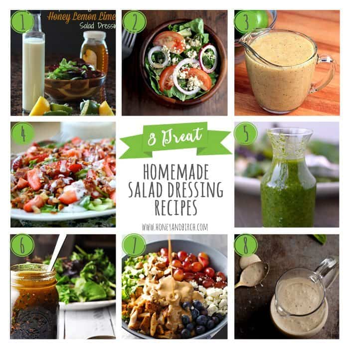 8 Great Homemade Salad Dressing Recipes - Honey and Birch
