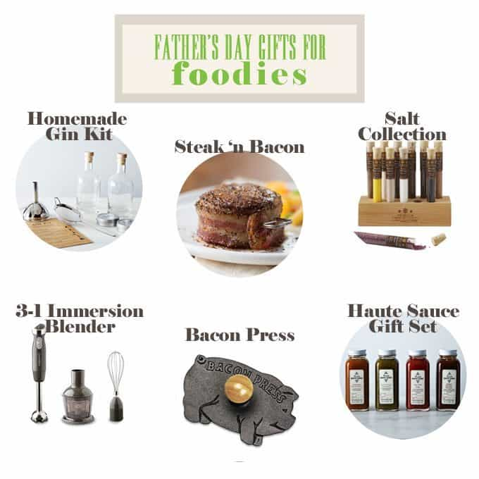 Father's Day Gift Guide for Foodies #fathersday #giftguide #gifts #dad