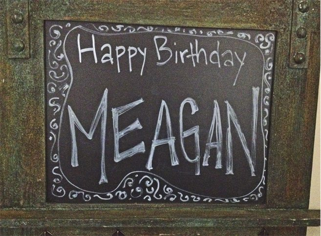 Happy Birthday Meagan!