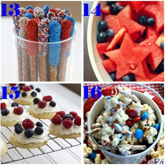 16 Patriotic Recipes for 4th of July - Honey and Birch