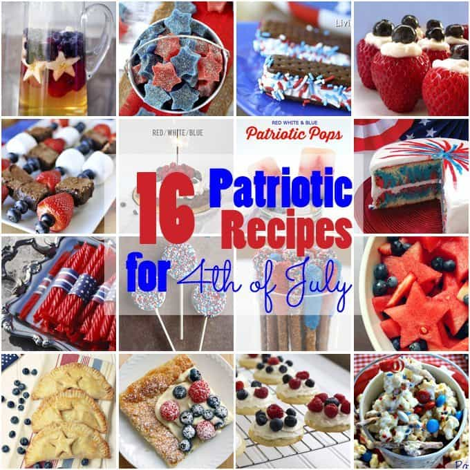 16 Patriotic Recipes for 4th of July | Honey and Birch