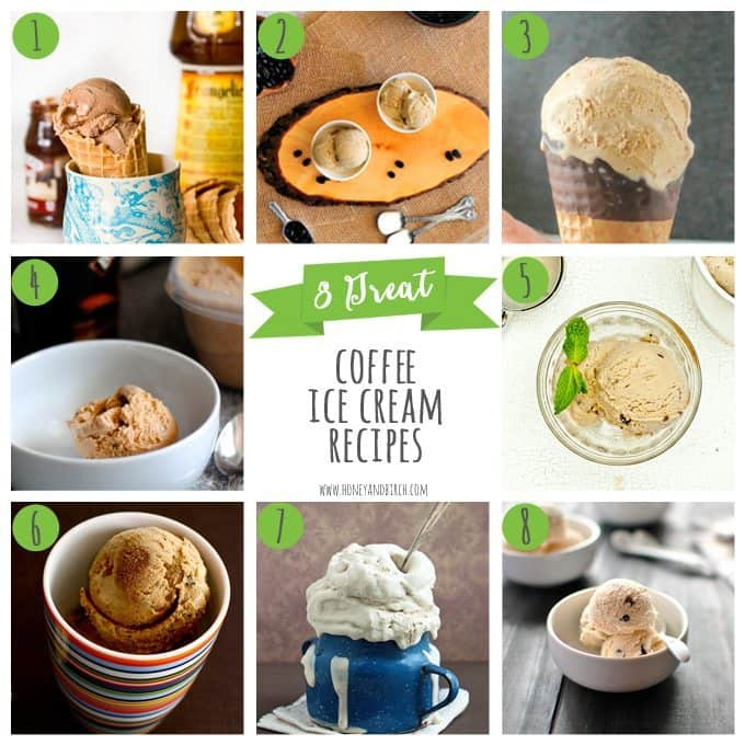8 Great Coffee Ice Cream Recipes - Honey and Birch