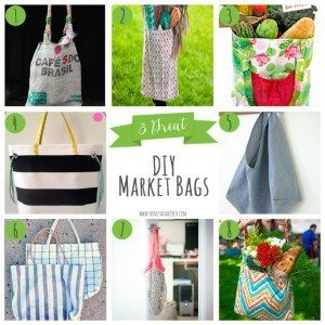 8 Great DIY Market Bags