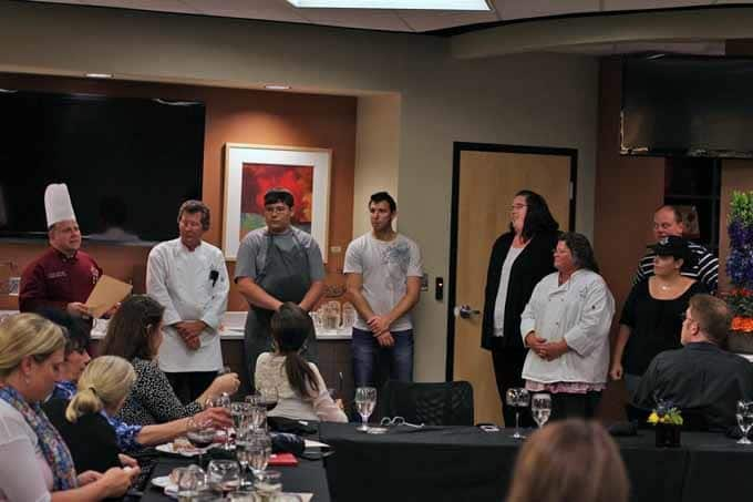 Chef Dale Introduces Culinary Staff