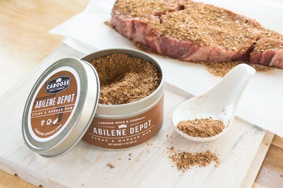 Steak & Burger Seasoning | 5 Etsy Shops for Food Gifts