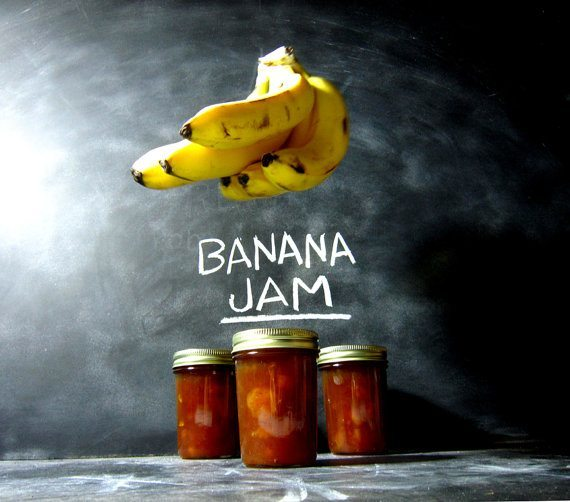 That's Bananas - Caramelized Organic Banana Jam | 5 Etsy Shops for Food Gifts